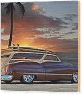 1950 Buick Woody Wagon Xi Wood Print