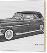1950 Chrysler Newport Wood Print