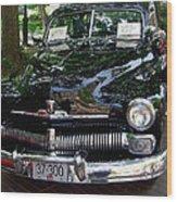 1950 Crysler Mercury Wood Print