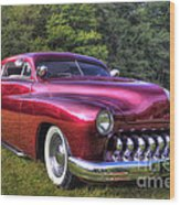 1950 Custom Mercury Wood Print