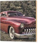 1950 Custom Mercury Subdued Color Wood Print