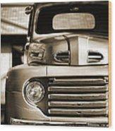 1950 Ford F-100 Wood Print