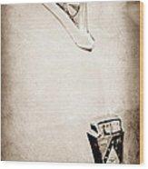 1950 Ford Hood Ornament - Emblem Wood Print