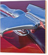 1950 Nash Hood Ornament Wood Print