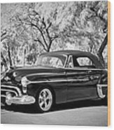 1950 Oldsmobile 88 -004bw Wood Print