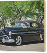1950 Oldsmobile 88 -004c Wood Print