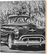 1950 Oldsmobile 88 -105bw Wood Print