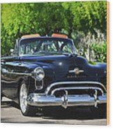 1950 Oldsmobile 88 -105c Wood Print