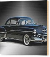1950 Oldsmobile 88 Deluxe Club Coupe I Wood Print
