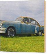 1950 Pontiac Chieftan Wood Print