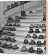 80ef9ca2b 1950s Mens Hats Coats Lined Up On Large Poster