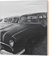 1950's Pontiac By Cathy Anderson  Wood Print