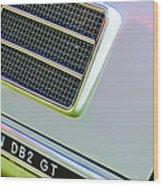 1951 Aston Martin Db2 Coupe Side Emblem Wood Print