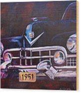 1951 Cadillac Wood Print