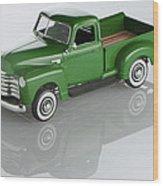 1951 Chevy Pick-up Wood Print