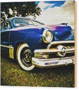 1951 Ford Custom Wood Print