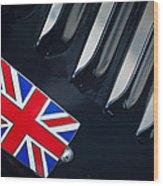 1951 Jaguar Proteus C-type British Emblem Wood Print