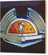 1951 Mercury Emblem Wood Print