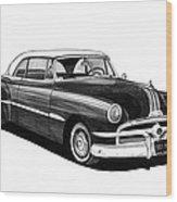 1951 Pontiac Hard Top Wood Print
