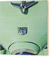 1951 Studebaker Commander Hood Ornament Wood Print
