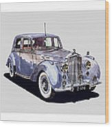 1952 Bentley M K Four Wood Print