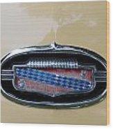 1952 Buick Eight Emblem Wood Print