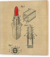 1952 Chanel Lipstick Case 4 Wood Print