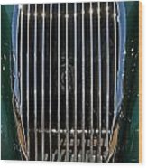1952 Jag Xk120 Wood Print