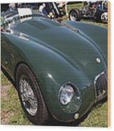 1952 Jaguar Xk120 Roadster 5d22967 Wood Print