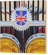 1952 Mg Replica Grille Emblem Wood Print