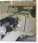 1952 Mg Roadster Wood Print