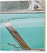 1952 Oldsmobile 98 Holiday Hardtop Side Emblem -1454c Wood Print