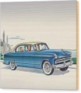 1953 Dodge Coronet - Square Format Image Wood Print