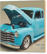 1953 Gmc Pickup Truck Wood Print
