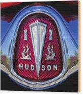 1953 Hudson Hornet Emblem 2 Wood Print