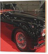 1953 Jaguar Xk 120 Se Roadster - 5d19929 Wood Print by Wingsdomain Art and Photography