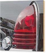 1953 Lincoln Capri Tail Light Wood Print