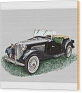 Mg T D 1953 Wood Print