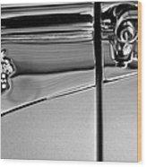 1953 Packard Caribbean Convertible Emblemblem Wood Print