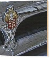 1953 Packard Clipper Grill Wood Print