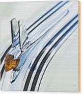 1953 Pontiac Chieftain Hood Ornament Wood Print by Tim Gainey