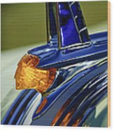 1953 Pontiac Hood Ornament 3 Wood Print by Jill Reger