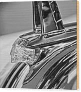 1953 Pontiac Hood Ornament 4 Wood Print by Jill Reger