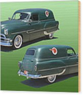 1953 Pontiac Panel Delivery Wood Print