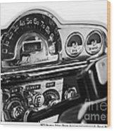 1953 Pontiac Silver Streak Wood Print