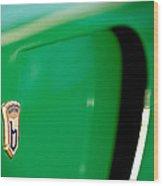 1954 Arnolt Bristol Bolide Emblem Wood Print