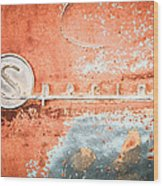 1954 Buick Special Emblem Wood Print