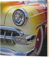 1954 Chevy Bel Air Wood Print