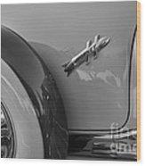 1954 Hudson Hornet Wood Print