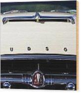 1954 Hudson Hornet Grill Wood Print